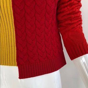 Alice + Olivia Sweaters - alice + olivia colorblock sweater